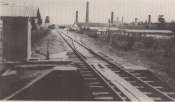Estação de Osasco em 1920