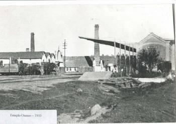 1910  - Estação de Osasco(ao lado cia)