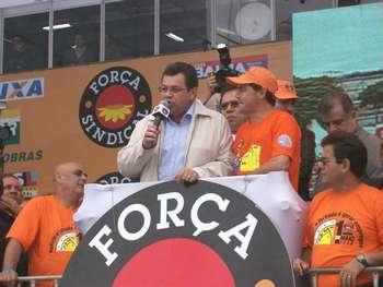 Prefeito Emidio prestigia Festa do Trabalhador da Força Sindical