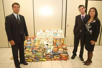 Fundo Social de Solidariedade de Osasco recebe doação de alimentos