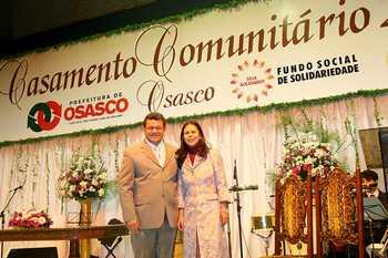 Casamento Comunitário sela a união de 238 casais em Osasco