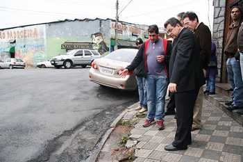 Avenida Benedito Alves Turíbio é recapeada