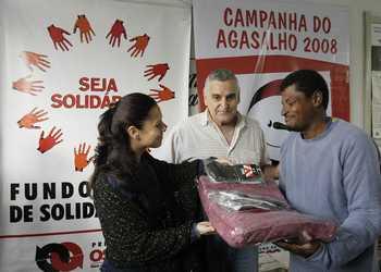 Fundo Social de Solidariedade encerra Campanha do Agasalho 2008
