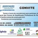 Convite Aula Inaugural Bolsa Família