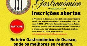 2º Roteiro Gastronômico de Osasco